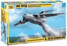ILYUSHIN IL-76 TD EMERCOM RUSSIAN HEAVY TRANSPORT AIRCRAFT #7029 1/144 ZVEZDA