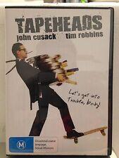 TAPEHEADS - JOHN CUSACK, TIM ROBBINS (R4 - LIKE NEW) - DVD #140