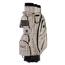 JuCad Bag Style - Neu - beige/kariert - Nylon/Lederoptik!