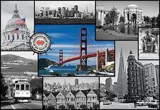 Puzzle Pappe Trefl 1500 Teile Impressionen Stadt San Francisco, USA - NEU 26127