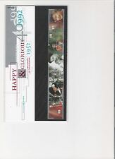 1992 ROYAL MAIL PRES PACK 40TH ANNIV OF ACCESSION MINT DECIMAL STAMPS