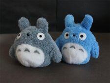 2x Totoro Fuzzy Plush Doll Soft Toy Miyazaki Ghibli New