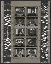 BLOC FEUILLET 1986 bloc n° 9 Cinémathèque neufs ** 1er choix / COTE 15 €