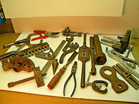 Junk Drawer Box 21A5  Vintage TOOLS, Machinist, RESELL, Gifts,  Mechanic. Misc.