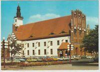 Ansichtskarte Frankfurt/Oder - Blick auf das Rathaus mit Parkplatz/Autos