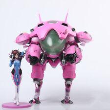 "8"" Overwatch OW D.va dva Hana Song Figure PVC Decoration Figurines Statue  Model"