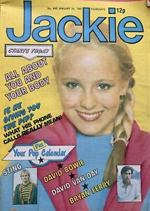 Jackie Magazine 24 January 1981 No. 890     The Boomtown Rats    Todd Carty