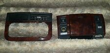 OEM 1999-2004 Jeep Grand Cherokee WJ Wood Grain bezel ashtray seat (2 pieces)