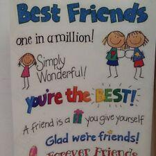 "12"" Best FRIENDS 1 IN A MILLION SCRAPBOOKING Stickers by Me & My Big Ideas"