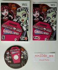 MONSTER HIGH GHOUL SPIRIT (Wii)  NTSC (USA)  VERY GOOD CONDITION - COMPLETE.
