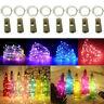 10/20 LED Colorful Wine Bottle Cork Shape Lights Night Fairy String Light Lamp