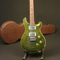 New Arrivals Electric Guitar 5A Grade Quilted Maple Army Green Color