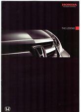 Honda Legend 3.5i VTEC V6 EX Specification 2008-09 UK Market Brochure