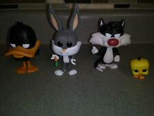 Funko Pop Vinyls Looney Tunes Bugs Bunny Daffy Duck & Sylvester Cat w/tweety