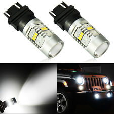 JDM ASTAR 14-SMD 3157 3156 White LED Turn Signal Brake Tail Parking Backup Light