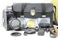 Krasnogorsk 3 Movie Cine Camera K-3 16mm & Meteor 5-1 Varifocal lens