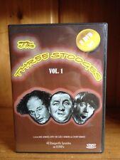 The Three Stooges 8 DVD Set VOL 1 Like New