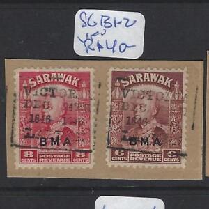SARAWAK  (P2010B)  BOX LABUAN CANCEL 6C+8C     SG 131-2 PIECE      VFU