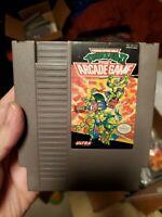 NES TMNT Teenage Mutant Ninja Turtles II 2: The Arcade Game Authentic/Tested !