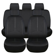 9X Luxury PU Leather Auto Universal Car Front Seat Covers Automotive Seat Cover