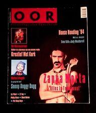 1994 FRANK ZAPPA CROAKS ISSUE DUTCH MAGAZINE RARE PHOTOS BEEFHEART GRANDMOTHERS