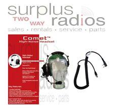 Comet Single Ear Racing Headset Kenwood TK3360 TK3160 NX320 NX220 TK3400 TK3173