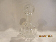 Vintage Perfume Decanter 24% Lead Crystal Made in Poland