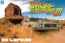 Kit Delorean ritorno al futuro III Back to The Future 1/24 Aoshima 011874 01187