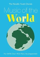 Partition pour musique chorale - The Novello Youth Chorals - Music Of The World