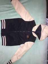 Vans Kids Jacket. Size: Large Colour: Navy And Cream