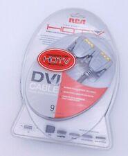 RCA High Performance HDTV DVI Cable 9'  24K