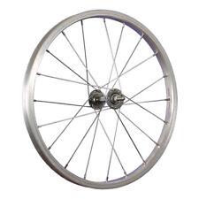Taylor Wheels Laufrad 18 Zoll Vorderrad Kastenfelge Alu Vollachse Stahl silber