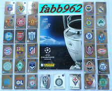 PANINI Champions League 2008/2009/ Album Vuoto/Empty+Complete Set Completo