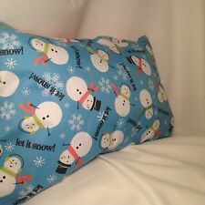 Snowman Pillow Seasonal Holiday Decor