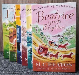 The Travelling Matchmaker M.C.Beaton 6 Books Set Bundle