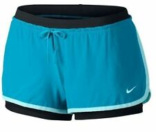 NWT Nike DriFIT Full Flex 2-in-1 Womens Training Shorts Imperial B 642699-408 L
