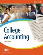 College Accounting by Robert W. Parry and James A. Heintz (2007, Hardcover)