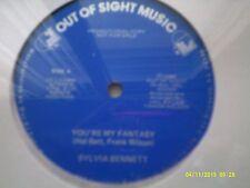 "12"" YOUR MY FANTASY SYLVIA BENNETT PROMO 1985 SEALED NEW LP MINT VINYL"