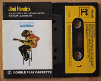 "JIMI HENDRIX - FROM THE FILM ""JIMI HENDRIX"" (REPRISE K464017) RARE UK CASSETTE"