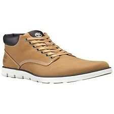 Timberland Bradstreet Chukka Men's Shoes Desert BOOTS in Suede Leather 44 Wheat Nubuck N0055157