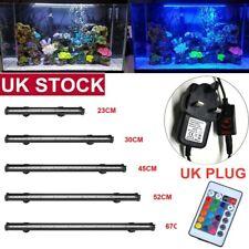 Top Aquarium Fish Tank LED Light 5050 RGB White Blue Strip Light Bar Lamp Lights