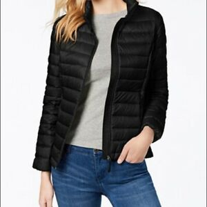 $100 32 DEGREES PACKABLE DOWN PUFF JACKET SIZE M MEDIUM BLACK