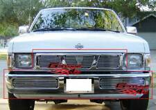 Fits 95-97 Nissan Hardbody Billet Grille Combo
