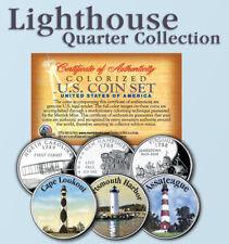 Historic American Offical LIGHTHOUSES U.S. Statehood Quarters 3-Coin - Set #3