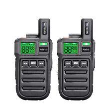 Mini Retevis RB615 PMR446 Funkgeräte 16CH CTCSS/DCS VOX TOT Walkie Talkie(2pcs)