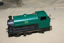 RARE TRI-ANG OO GAUGE 060 CLOCKWORK SWITCH ENGINE WITH KEY
