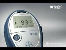Breeze2 Accurate Blood Glucose Meter for Diabetes Care w/ Carry Case by Bayer