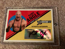 KURT ANGLE WWE Diva TOPPS 2006 Heritage II Auto Authentic Autograph Card NM/MT