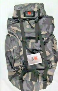 FOX Outdoor Rio Grande Shoulder Backpack Survival Bug Out Bag 45L Midnight Camo