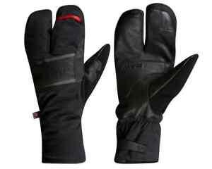 NEW! Pearl Izumi AmFIB Lobster Gel Cycling Gloves 14342006 Color Black Medium